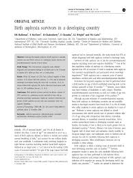 Nursing Care Plan For A Baby With Birth Asphyxia Pdf Birth Asphyxia Survivors In A Developing Country