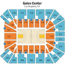 Usc Galen Center Los Angeles Tickets Schedule Seating