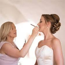 clare luisa white bridal hair makeup