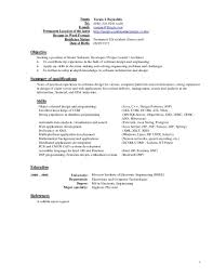Download Current Resume Haadyaooverbayresort Com Latest Templates