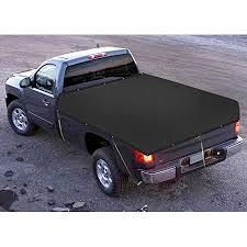 Shatex Shade Mesh Tarp Truck Cover with 4 Bungee Cords for Pick-Up ...