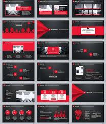 30 Black Red Business Plan Powerpoint Templates Premium