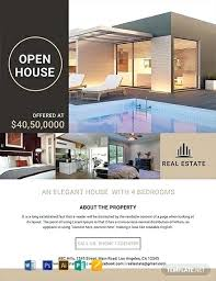 Microsoft Real Estate Flyer Templates Flyer Template Free Real Estate Listing Design Meaning In