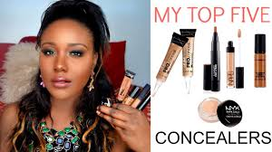 best high end concealers under eye dark circles darkspots for black women dark skin you