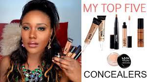 best high end concealers under eye dark circles darkspots for black women dark skin you