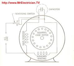 fractional horsepower electric motor diagrams mr electrician forward reverse single phase motor diagram at Ac Motor Reversing Switch Wiring Diagram