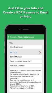 Smart Resume Amazing Smart Resume Pro Resume And CV Designer On The App Store
