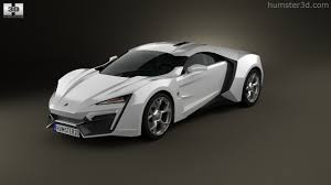 w motors lykan hypersport 2016 3d model