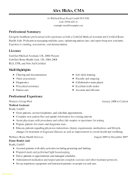Medical Assistant Example Resume Exquisite Design Home Health Care Resume Example Medical Assistant 26