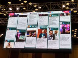 social wall insram wall hash