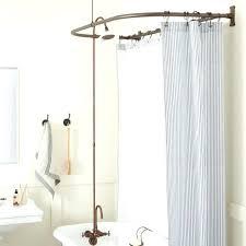 bathtub shower conversion kit showers for bathtub tub shower conversion kit d style solid brass clawfoot tub shower conversion kit d style shower ring