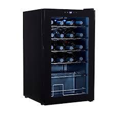 wine cooler cabinet. Modren Cabinet Mecor 24Bottle Compressor Wine Cooler Freestanding Chiller  Refrigerator CabinetBlack By Mecor In Cabinet I