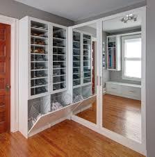 Professional Closet Designers New York Custom Shoe Storage Closet Transitional With Closet