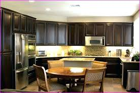 Restain Oak Kitchen Cabinets Enchanting Gel Stain Oak Kitchen Cabinets Full Size Of Kitchen Kitchen Cabinets