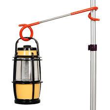 Hotilystore 1pcs Way Lantern Light Lamp Hanger Tent Pole Post Hook