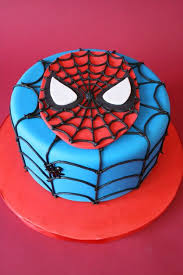 Superhero Birthday Cake Mod Cakery Boy Birthday Cakes Spider