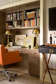magnificent design luxury home offices appealing. traditional home contemporary officedesk nook in closet lacquered builtins orange chair brass desk lamps magnificent design luxury offices appealing