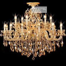 modern 6 8 12 15 bulbs crystal candle chandelier pendant lamp suspension light ac 110v 240v ranmantic dining room lighting large pendant contemporary