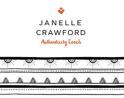 Janelle Crawford Authenticity Coach Logo - Colour Cult