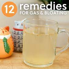 12 ways to get rid of gas bloating