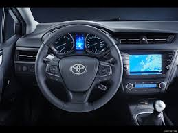 2016 Toyota Avensis - Interior Steering Wheel | HD Wallpaper #36