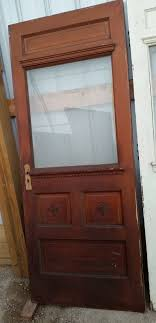 half beveled glass door