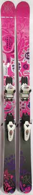 2014 Volkl Aura Womens Skis With Marker Griffon Demo Bindings Used Demo Skis 163cm