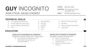 100 Qc Chemist Cover Letter Cover Letter Project Manager