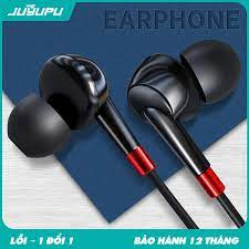 SIÊU RẺ] Tai nghe JUYUPU M3 cao cấp nhét tai chống ồn jack 3.5mm chính hãng  dành cho iPhone Samsung OPPO VIVO HUAWEI XIAOMI tai nghe có dây, Giá siêu  rẻ 69,000đ!