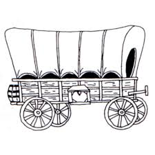 pioneer wagon clipart. covered wagon clipart border pioneer i
