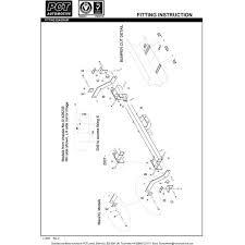 Citroen Berlingo 1.6 towbar wiring diagram south africa
