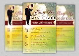 Pastor Appreciation Church Flyer Template Inspiks Market