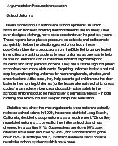 persuasive essay on uniforms semutmyipme