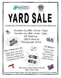 Church Yard Sale Flyer Template Under Fontanacountryinn Com
