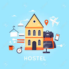 Trip Planner Cost Hostel Building Facade Budget Low Cost Travel Planning Summer
