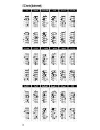 Sample Banjo Chord Chart Free Download