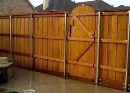 metal fence post for wood fence vanillawalkorg