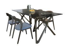 New <b>Nordic</b> Design Home Furniture <b>Rectangle</b> Glass Top <b>Wooden</b> ...