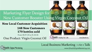 marketing flyer design copy writing and design to boost new marketing flyer design to boost new customer acquisition using virgin coconut oil wordpress featured image