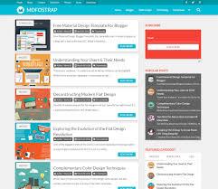 Documentation Mdfostrap Material Design Template Blogger Google