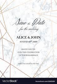 Wedding Invitation Template Wedding Invitations Template Of Geometric Design