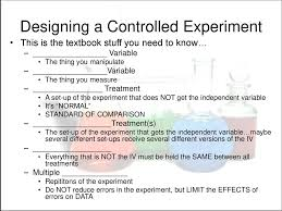Designing A Controlled Experiment Ap Biology Answers Doing Science Ap Biology Ppt Download