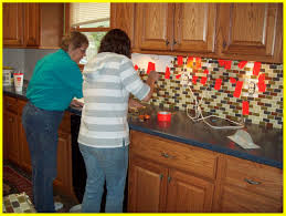 interior replacing tile backsplash incredible how to install glass mosaic part 1 prepping the for