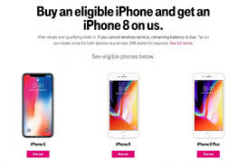 t mobile announces bogo deal for iphone 8 or 700 off second iphone x