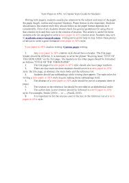 Research Paper Citing Examples Apa Citation Format Mla Style