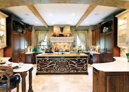 Kitchen Island Free Standing Dark Wood Kitchen Designs With Beautiful Flower And Marble Top