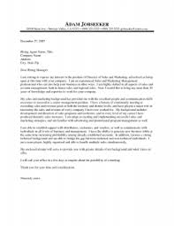 Sales Manager Cover Letter Sample Musiccityspiritsandcocktail Com
