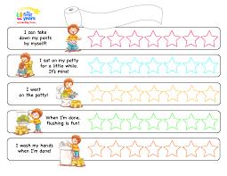 Potty Training Chart Pdf Kid Ideas Pañales Imprimibles Sentidos