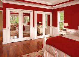 mirrored closet doors interior and closets pertaining to for bedrooms plans 11