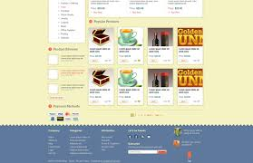 Free Ecommerce Website Templates Adorable Free Ecommerce Website Template Design Designs Bucket Free